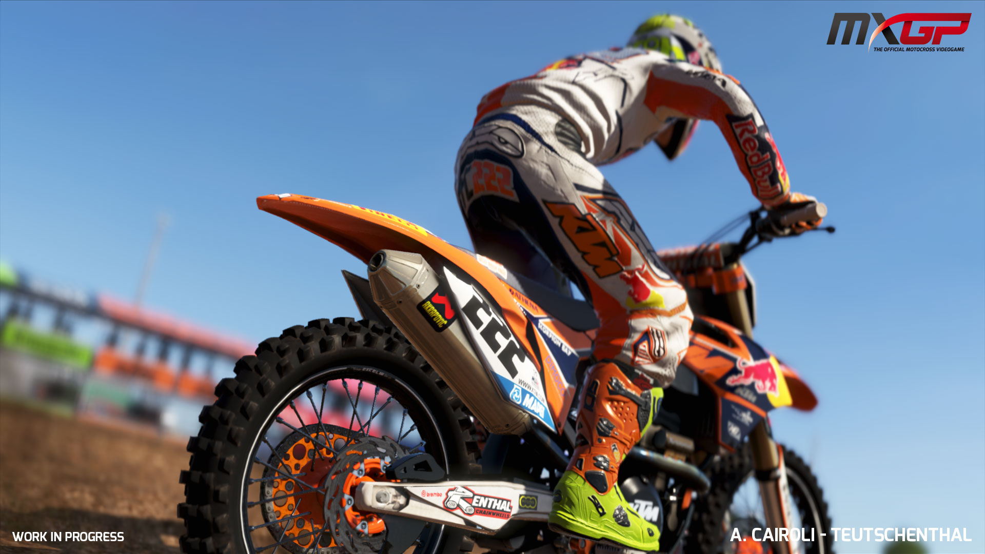 MXGP: The Official Motocross Videogame ? Screenshots der PS4-Version