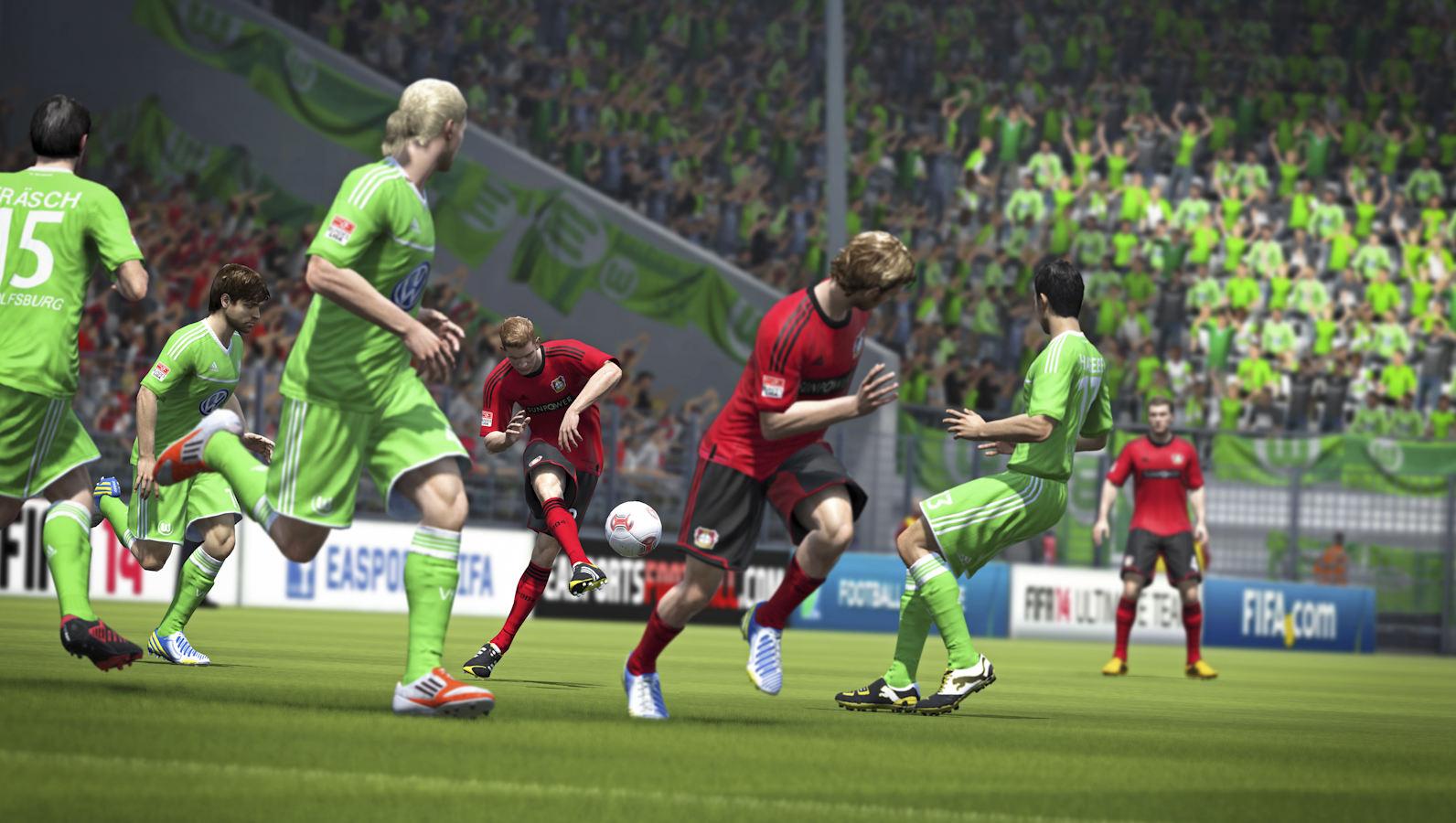 FIFA 14″ wird hierzulande am 26. September für die PlayStation 3