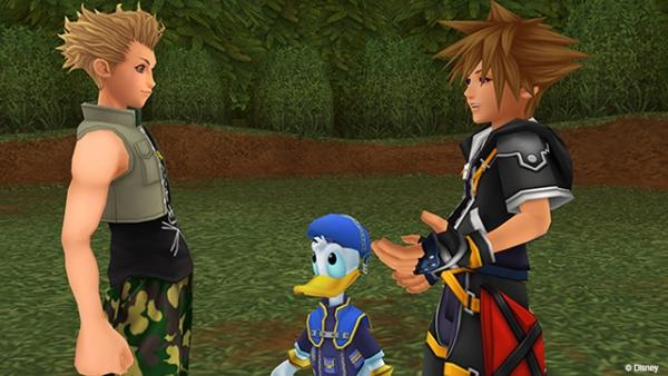 Screenshots zu der HD-Remake-Collection ?Kingdom Hearts HD 2.5 Remix