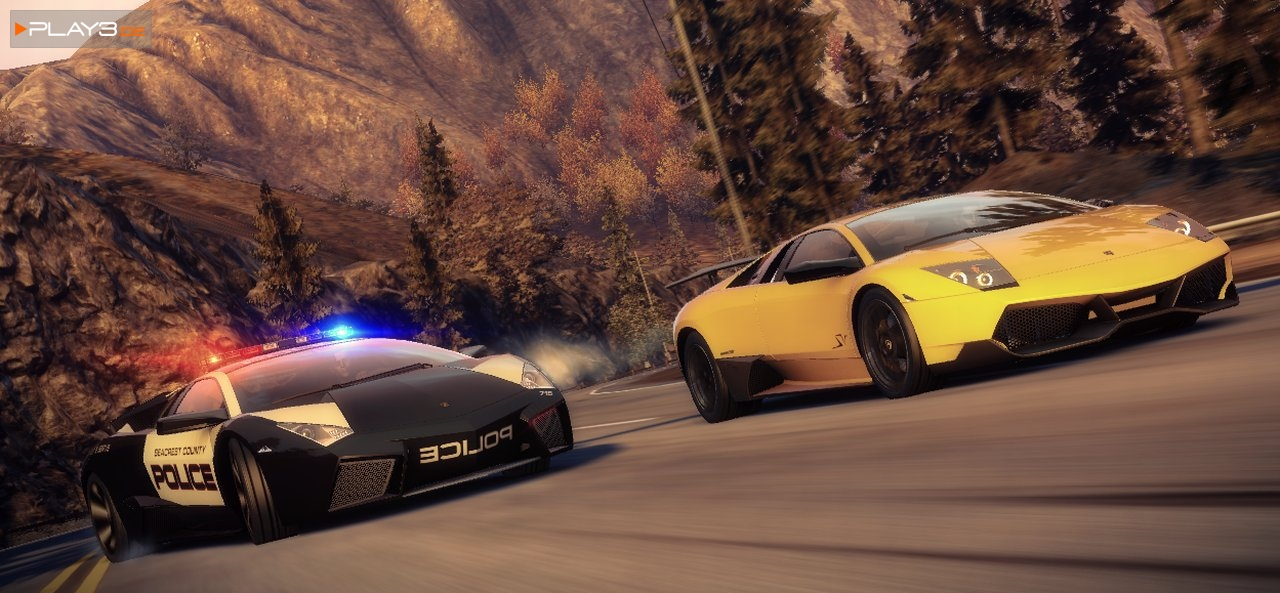 need for speed hot pursuit wird richtig gro screens update porsche 91. Black Bedroom Furniture Sets. Home Design Ideas
