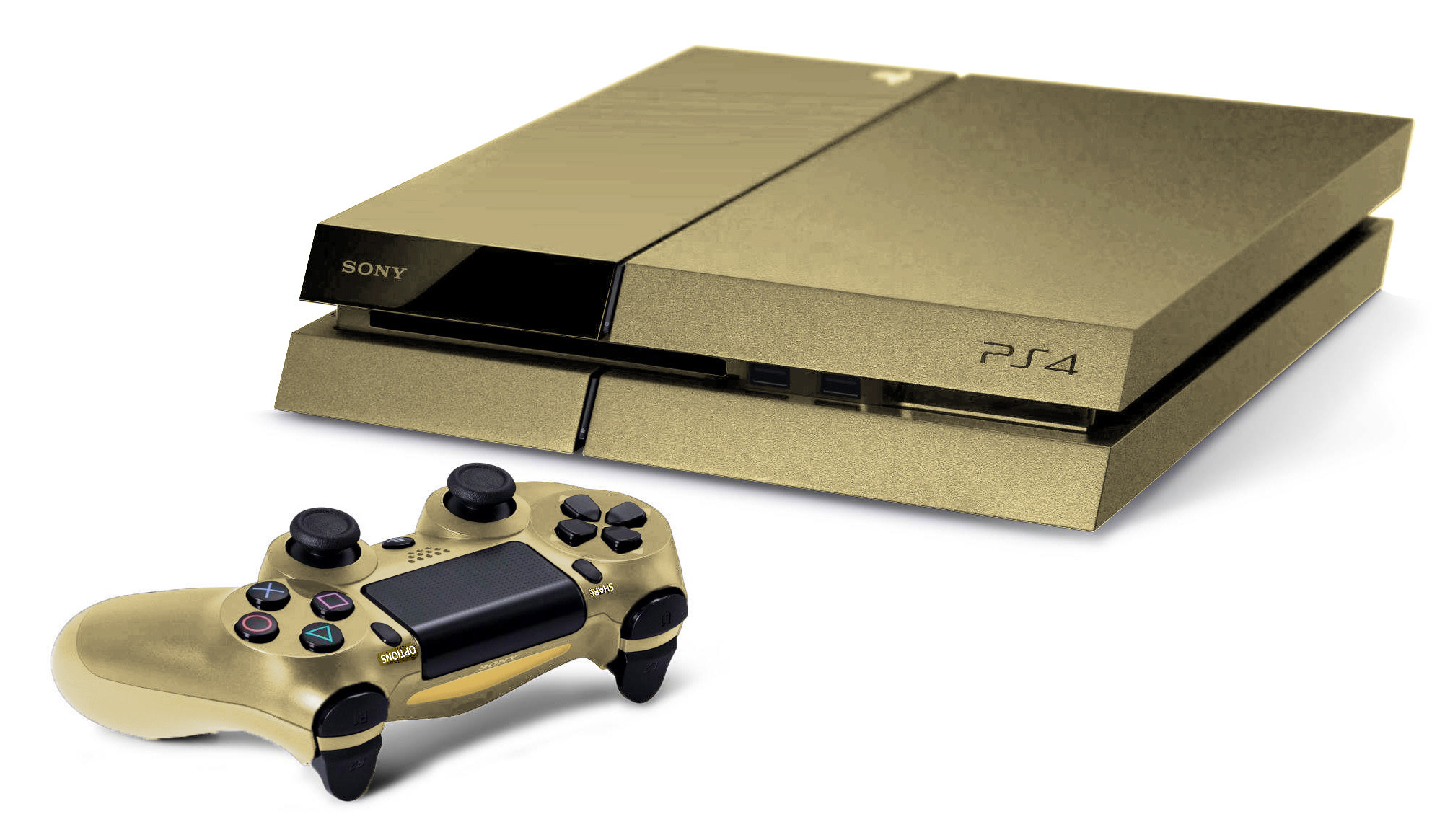 Xbox One Controller Colors Gold Ps4 Controller - ...