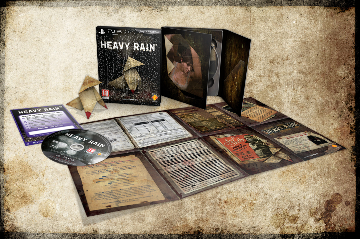 Heavy Rain: Die Collectors Edition in der Übersicht