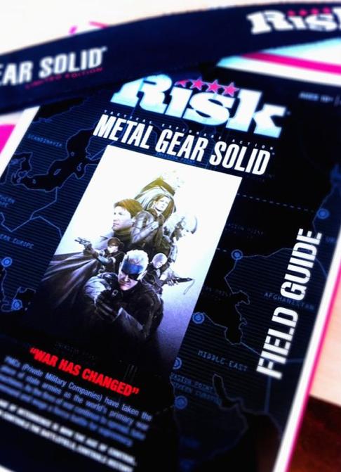 MGS Metal Gear Solid Brettspiel Risiko 02