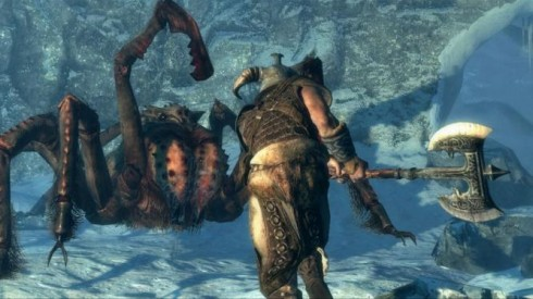 Skyrim Screenshot Gameplay