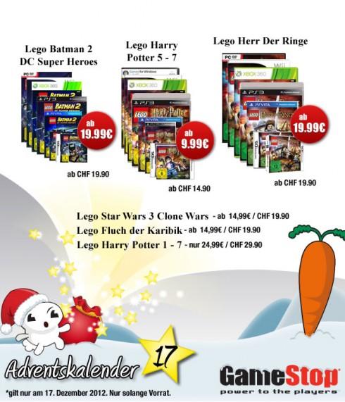 Gamestop Adventskalender Lego Fluch Der Karibik Harry Potter 1