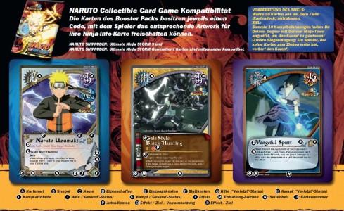 Naruto Shippuden Karten.Naruto Shippuden Ultimate Ninja Storm 3 Neue Booster