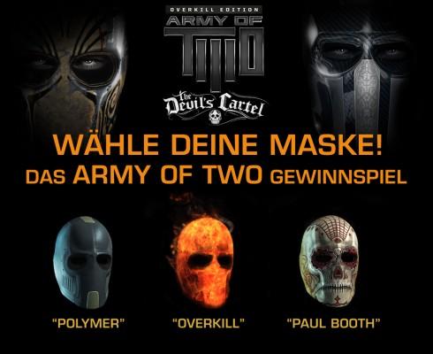 Army of Two Gewinnspiel Maske