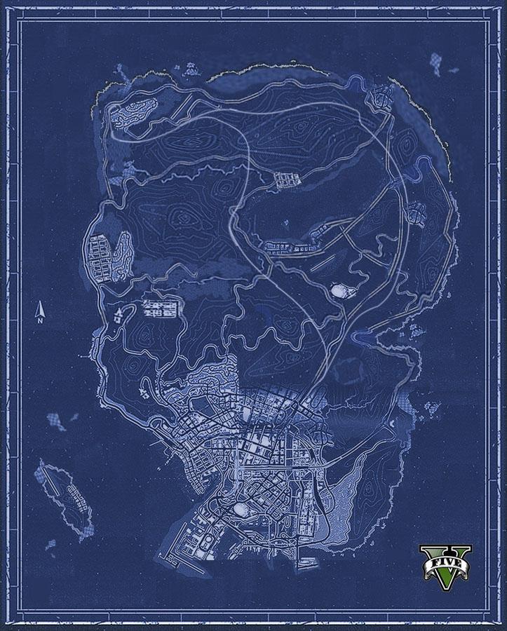 GTA V Gta-5-map-inoffiziell