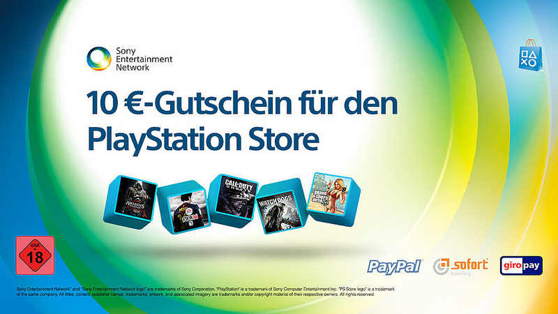 playstation store so erhaltet ihr einen 10 euro gutschein. Black Bedroom Furniture Sets. Home Design Ideas