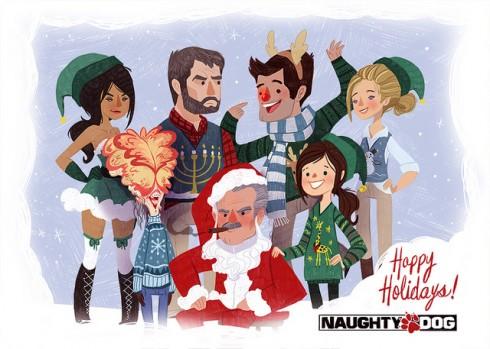 naughty dog christmas 2013