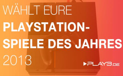 Game Of The Year - 2013 PS3 PS4 PSN PSVita