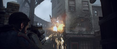 The Order 1886 PS4 Playstation 4 Screenshot