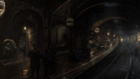 the order 1886 underground artwork