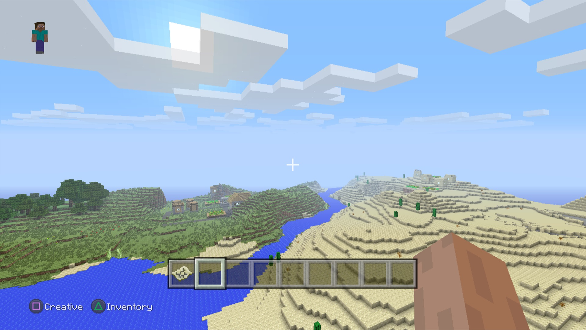Minecraft Vergleichsbilder Zeigen PS Und PSVersionen Playde - Minecraft pc mit ps3 spielen