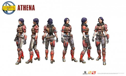 Borderlands - The Pre-Sequel - Athena 2