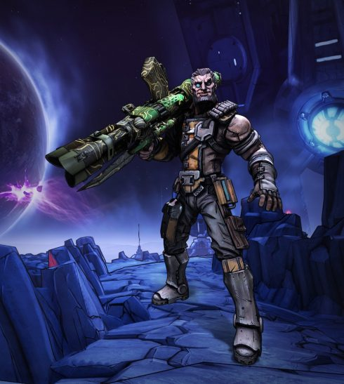 Borderlands The Pre-Sequel - Artwork Wilhelm 01