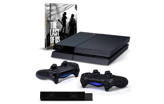 amazon ps4 bundle inkl the last of us sowie driveclub. Black Bedroom Furniture Sets. Home Design Ideas