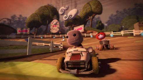 Little Big Planet Karting PS3 Screenshot