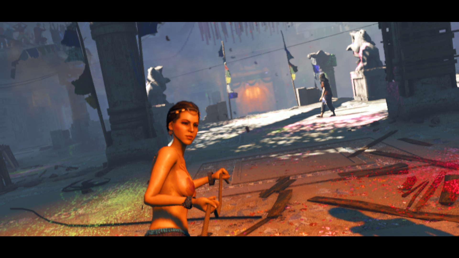 Nude mod for far cry exposed images