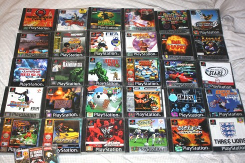PS1 PlayStation PSone Spiele Games
