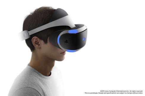 project morpheus head PlayStation VR