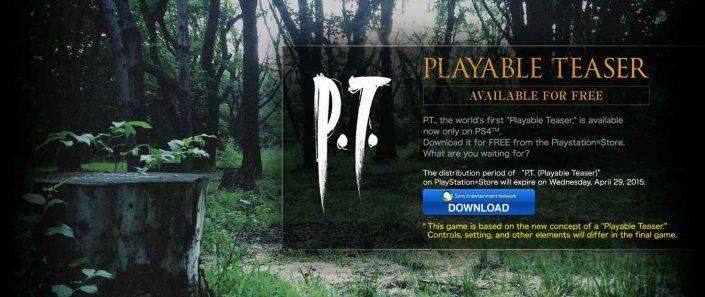 P.T.: Auf der PS5 nicht spielbar