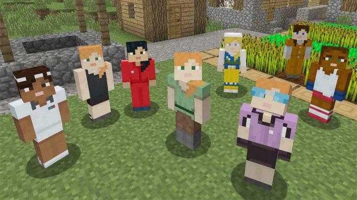 Minecraft Neues Update Für Die KonsolenVersion Auch PS Erhält - Skins fur minecraft machen
