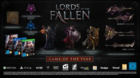 Lords of the Fallen Game of the Year-Edition