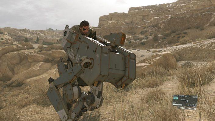 Metal Gear Solid 5 The Phantom Pain: Ocelot wird mit dem August-Update spielbar sein
