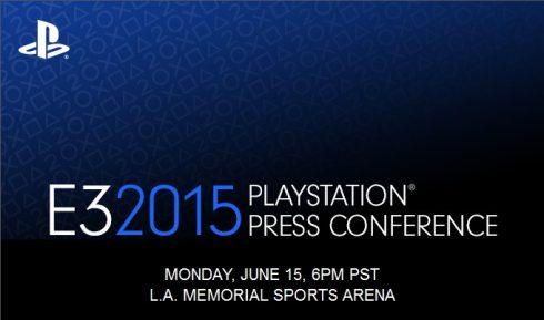 Sony playstatiom e3 2015