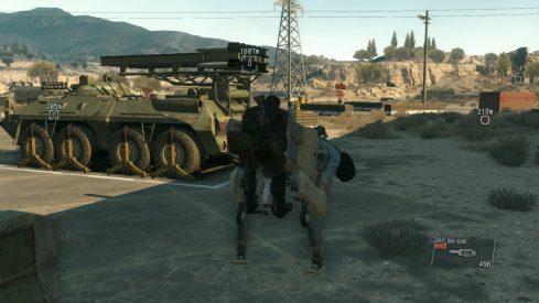 Metal Gear Solid 5 The Phantom Pain - PS4 Screenshot 05