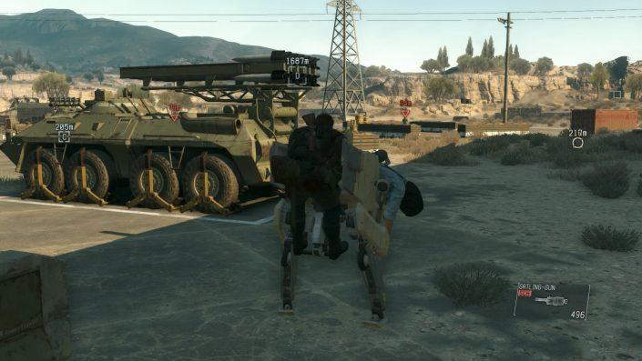 Metal Gear Solid V: The Phantom Pain – Details zu Update 1.10