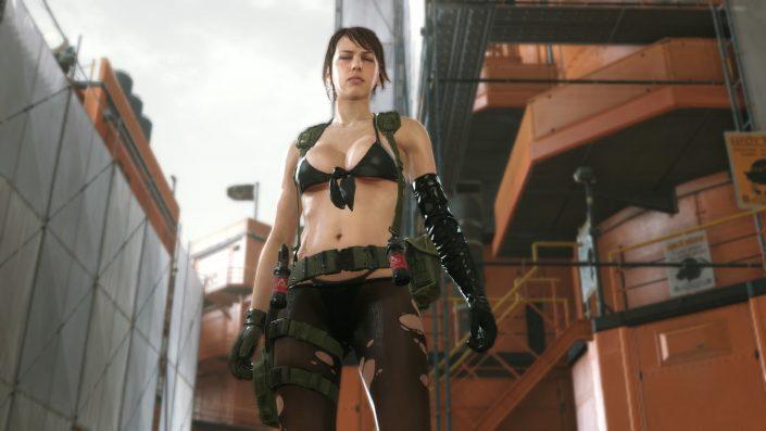 Metal Gear Solid 5 The Phantom Pain: Quiet ist mit einem neuen Patch spielbar