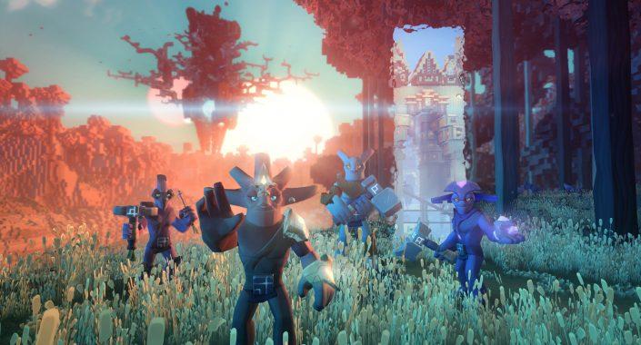 Boundless Trailer Zeigt GameplaySzenen Aus Dem Minecraftartigen - Minecraft clone spielen