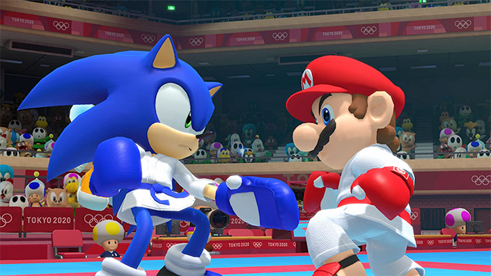Konsolenkrieg – Mario vs Sonic