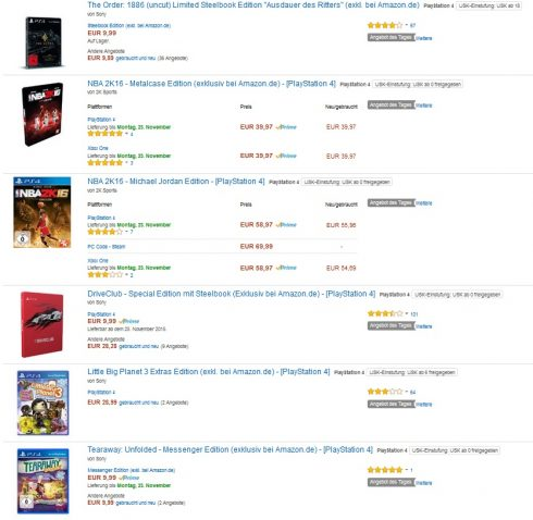 angebot des tages amazon
