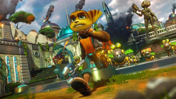 Ratchet & Clank: Angeblich als PS5-Launch-Titel in Entwicklung