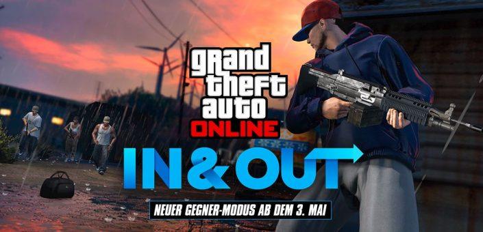 GTA 5 Online: In and Out-Woche mit neuem Gegner-Modus angekündigt