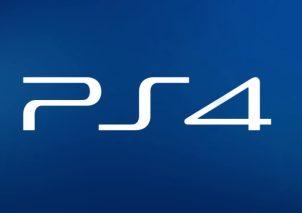 PS4 logo blau