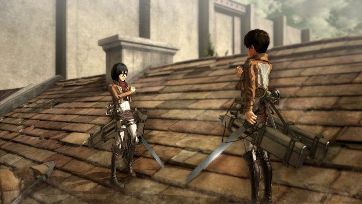A.O.T. Wings of Freedom – Armin, Mikasa und Eren in neuen Trailern vorgestellt
