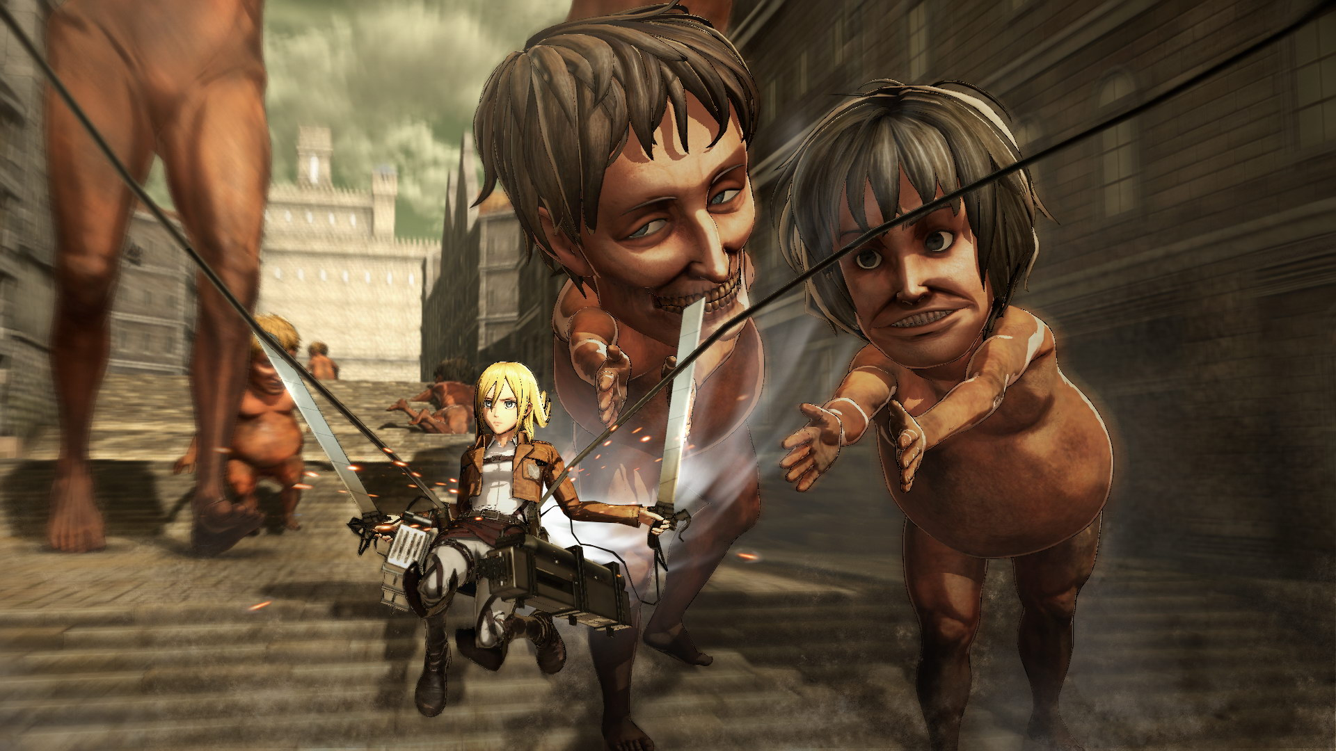Attack on Titan Episode 3 Dubbed  cartooncrazytv