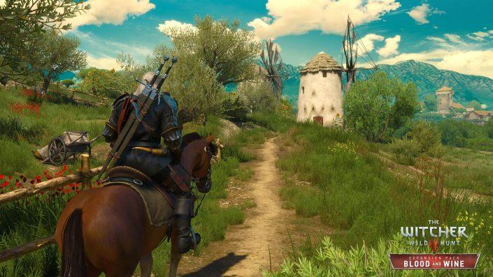 The Witcher 3: PS4 Pro-Update im Gameplay-Video, Video-Analyse und Vergleich