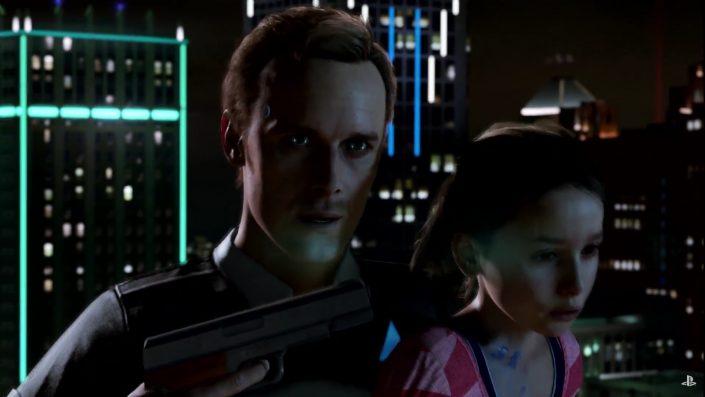 Detroit Become Human: Das neue Quantic Dream-Projekt im E3-Trailer