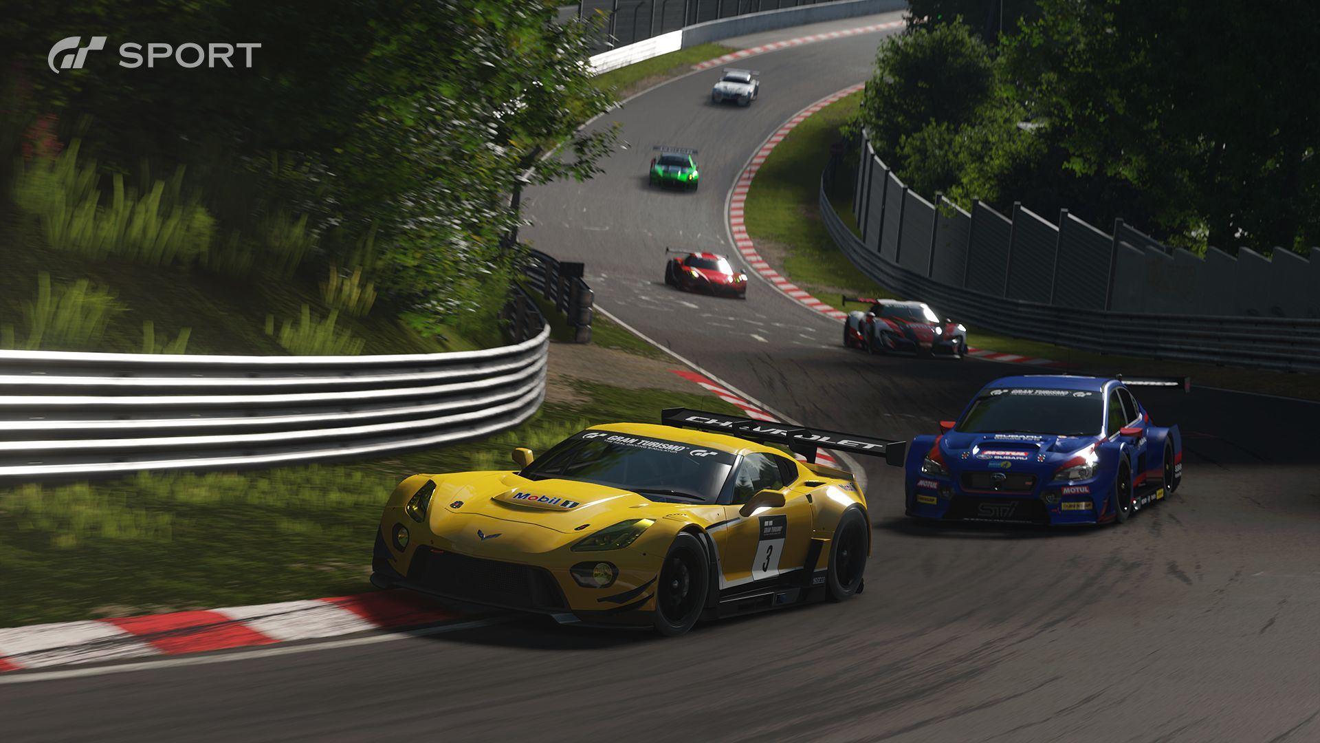 Gran Turismo Sport Neues Videomaterial Zeigt Mazda Lm 55