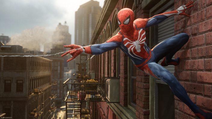 Spider-Man PS4-Spiel profitiert von Sunset Overdrive-Entwicklung