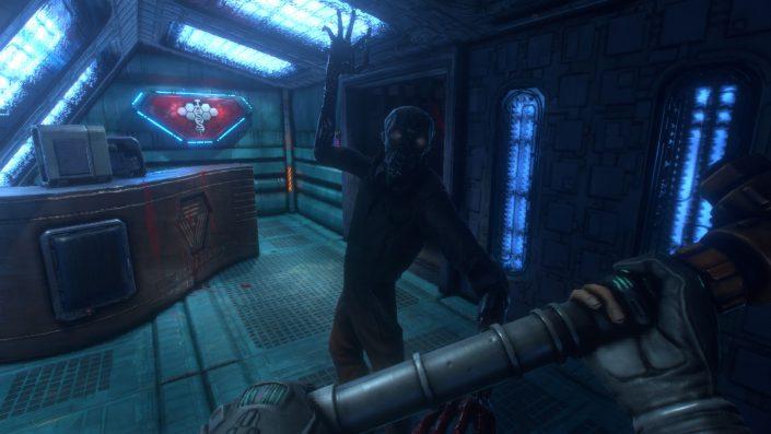 """System Shock: Nightdive enthüllt """"Cyberspace""""-Gameplay und Entwicklertagebuch zum Gore"""