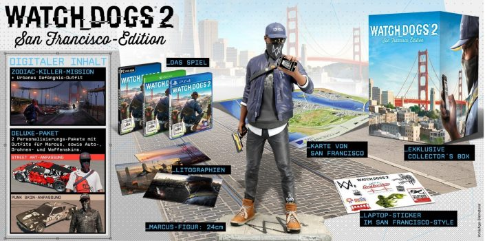 Watch Dogs  Deluxe Edition Vs Gold