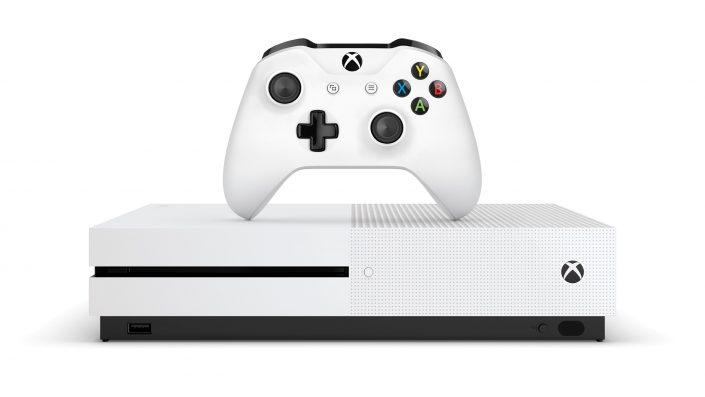Xbox One S All-Digital: Die Version ohne Laufwerk erscheint wohl Anfang Mai im Bundle mit drei Spielen