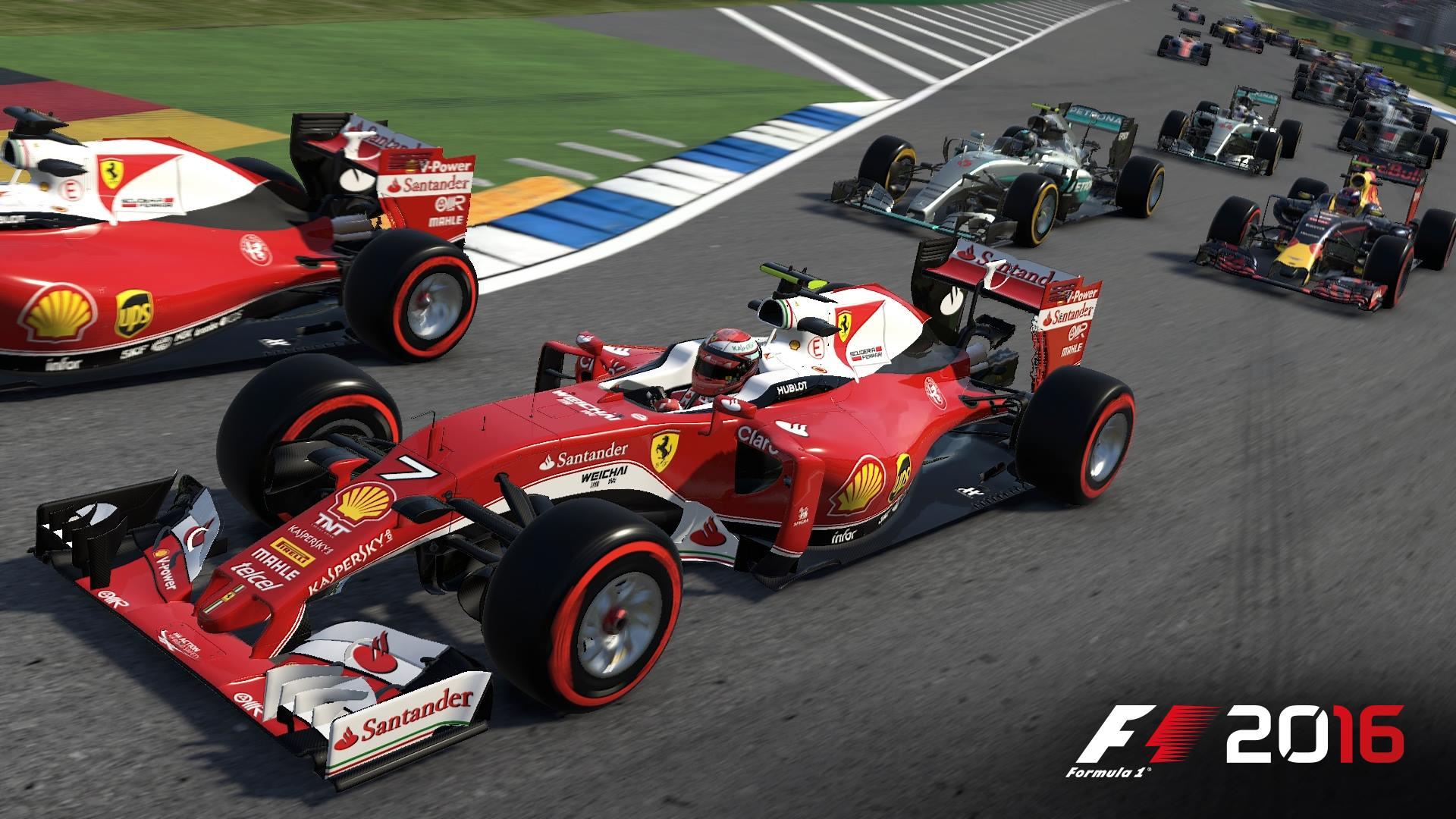 F1 2016: Heiße Runde von Sebastian Vettel auf Monza