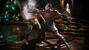 Injustice 2 Screenshot Deadshot and Aquaman